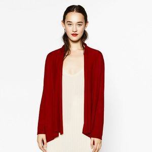 Zara Red Cardigan